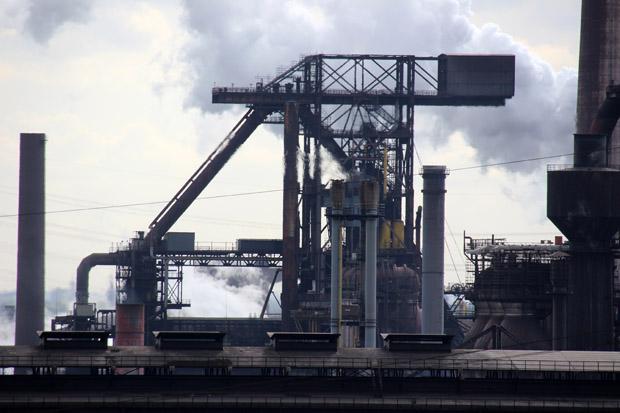Eine weitere Ansicht vom Hüttenwerke Krupp Mannesmann