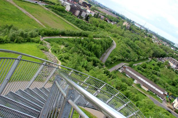 Der Blick ins Ruhrgebiet ist immer überraschend grün