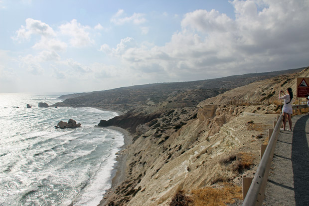"""Einen schönen Blick auf den """"Stein der Griechen"""" hat man, wenn man die B6 etwas in Richtung Osten fährt"""