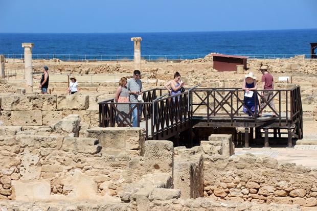 Die Villa des Theseus hatte einst über 100 Räume