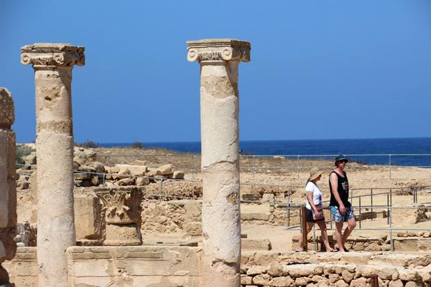 Hier befand sich einst die Agora - der zentrale Platz der Stadt