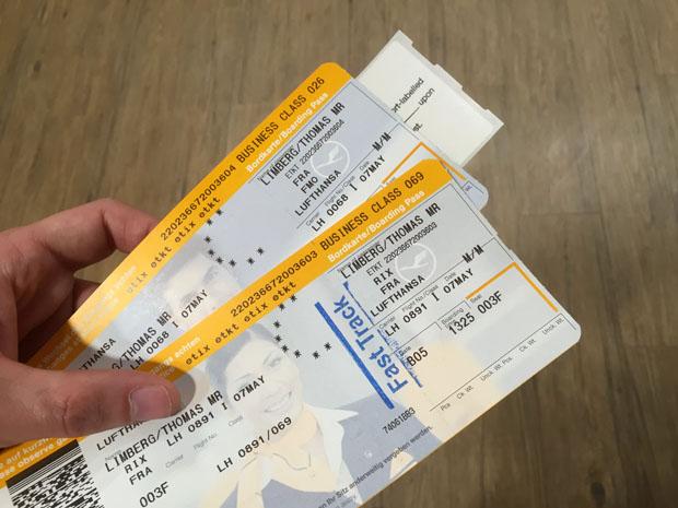 Mit einem Business-Class-Ticket wird man bei der Sicherheitskontrolle bevorzugt behandelt