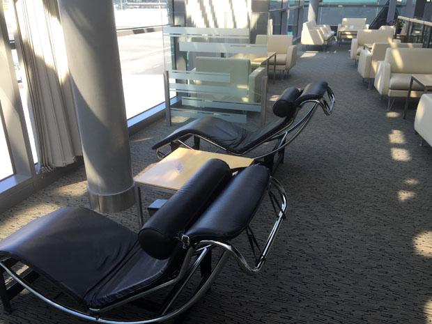 Die Lounge am Flughafen Riga überzeugte mich