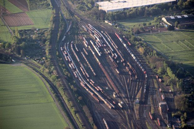 Der Güterbahnhof Bischofsheim