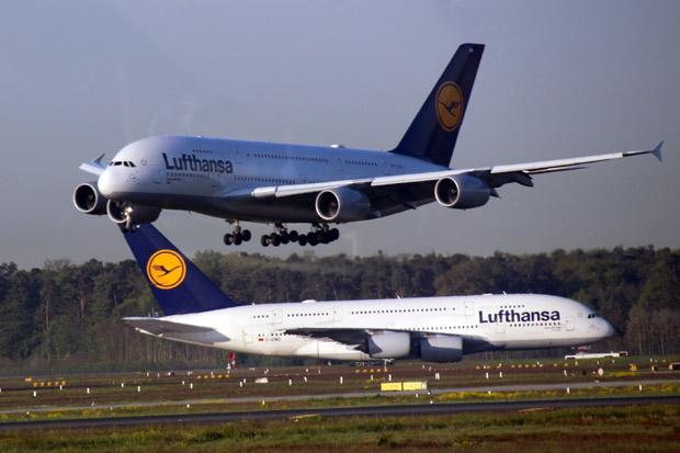 Mittlerweile ist die A380 Dichte in Frankfurt doch sehr hoch