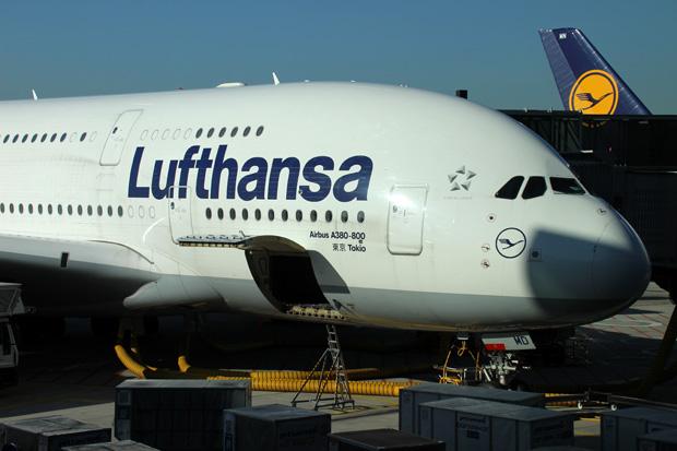 Auch vom Terminal aus fotografierte ich noch ein paar A380