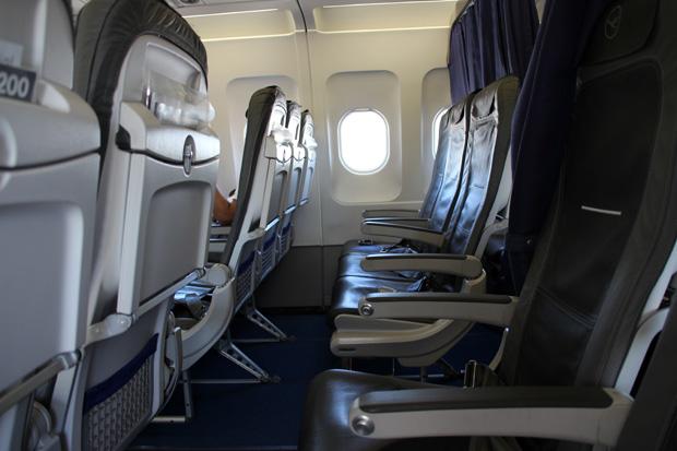 Auch auf diesem Flug nahm ich in der Business Class Platz