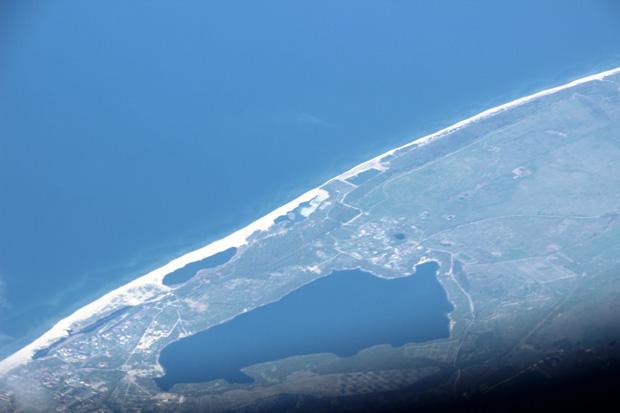 Ein kleiner See auf russischem Territorium, wenige Kilometer westlich von Kaliningrad