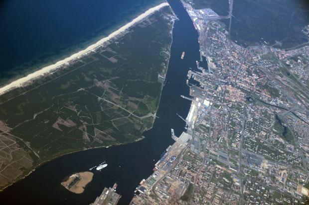 Die Hafenstadt Klaipėda in Litauen ist auch unter dem deutschen Namen Memel bekannt