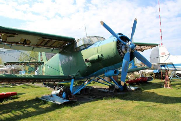 Ein alter Antonow Doppeldecker