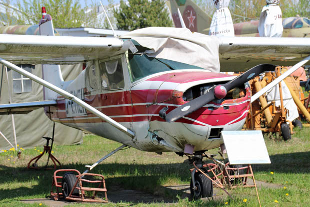 An dieser Cessna nagt der Zahn der Zeit