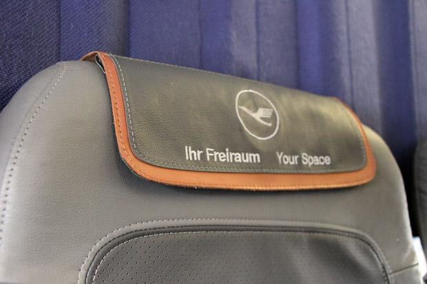 Die Sitze in der Lufthansa Business Class sind die gleichen wie in der Economy