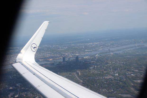 Ein letzter Blick zurück nach Riga