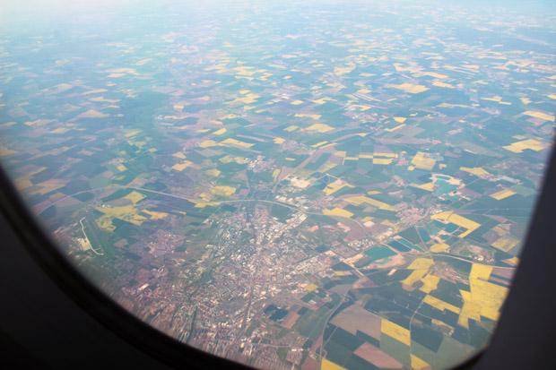 Die thüringische Landeshauptstadt Erfurt mit dem Flughafen Erfurt/Weimar