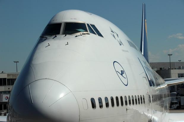 Ich bin immer beeindruckt, wie groß doch eine 747 ist