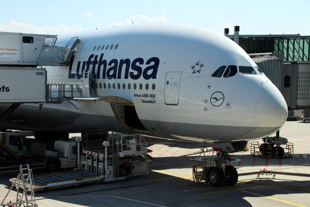 Ich lichtete jeden A380 ab, der mir vor die Linse kam