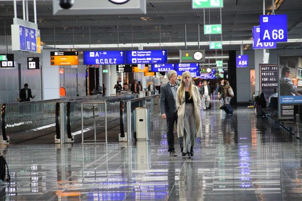 Irgendwie mag ich diese besondere Flughafen-Atmosphäre