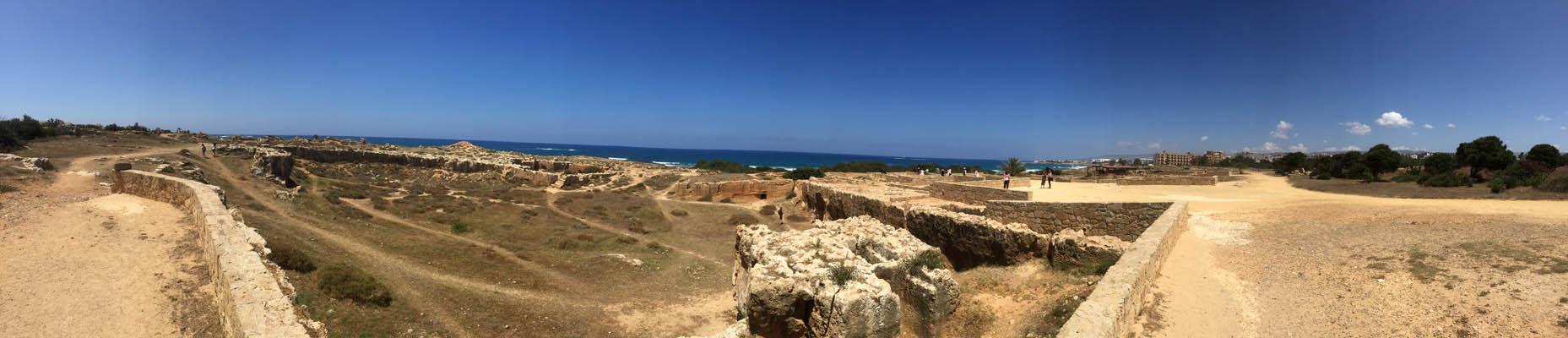 Die Königsgräber gibt es in dieser Art nur in Paphos.