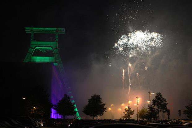 Das Feuerwerk war ein echtes Highlight