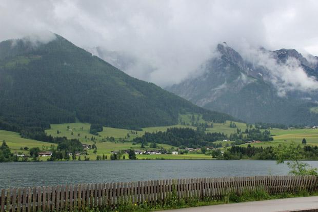 Zugang zum See gibt es in Walchsee eher selten