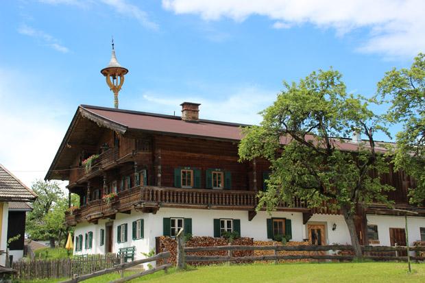 In Going sind viele tolle Tiroler Häuser zu sehen