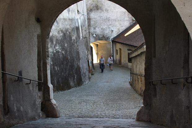 Ein Spaziergang durch die verwinkelten Gassen der Festung macht Spaß