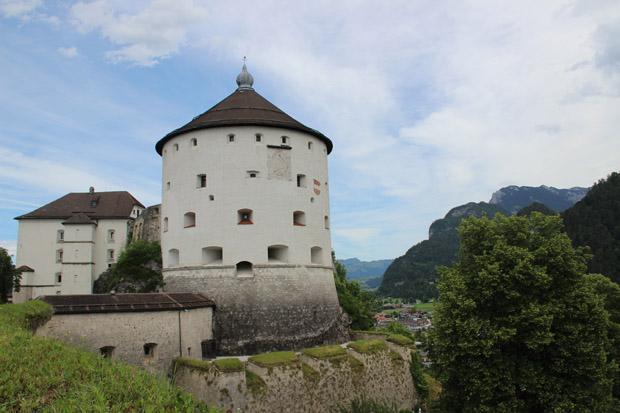 Über Kufstein thront die gleichnamige Festung