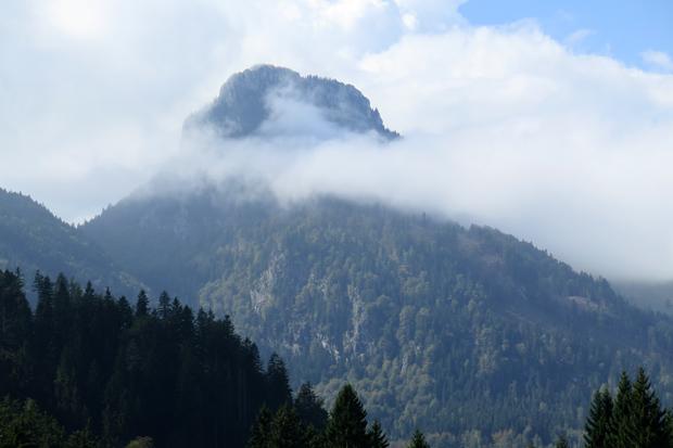 Wurde das Wetter am Brünnstein schlecht, meldete sich die Wetterhexe