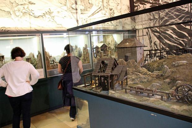 Viele sehenswerte Modelle werden im Museum gezeigt