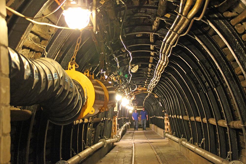 Die Gänge im Besucherbergwerk im Deutschen Bergbau-Museum Bochum sind eindrucksvoll