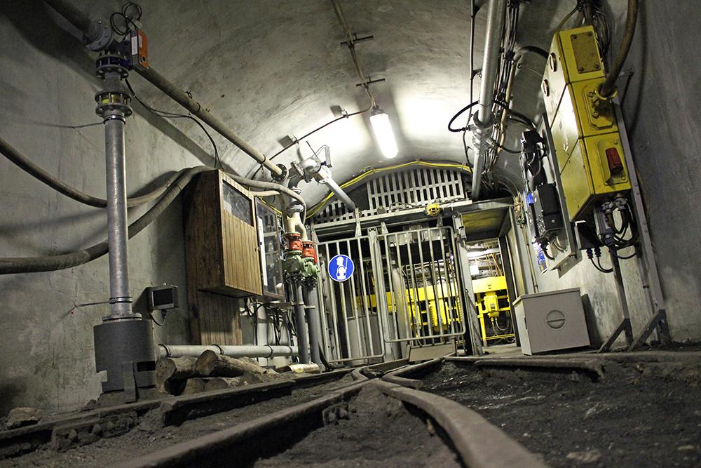 Fast könnte man das Anschauungsbergwerk im Bergbau-Museum für ein echtes Bergwerk halten
