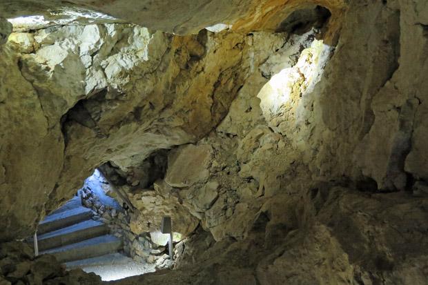 In den Höhlen des Wendelsteins soll sich einst ein Schatz befunden haben