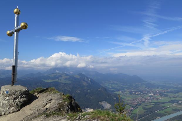 Vom Gipfel des Kranzhorns soll eine Sennerin ins Reich des Bergfürsten gestiegen sein