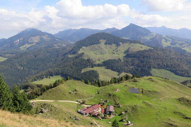 Die Almen am Kranzhorn sind heute lohnende Ausflugsziele