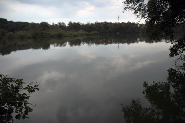 Der Ewaldsee liegt in unmittelbarer Nähe der Zeche