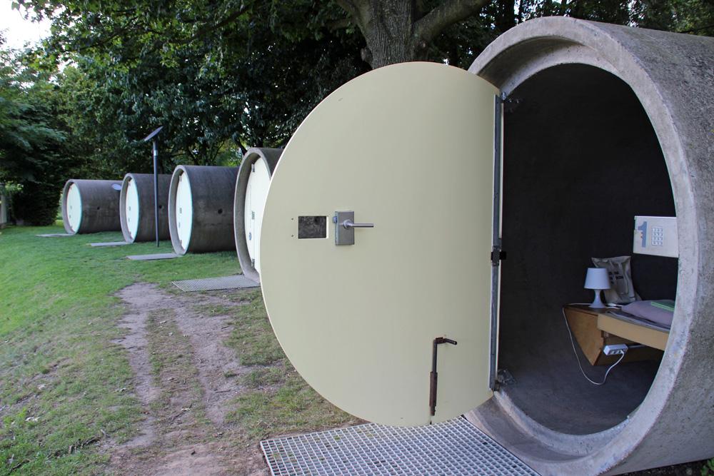 Weder Hotel noch Camping - Der Bernepark in Bottrop im Ruhrgebiet bietet die Möglichkeit besonders zu übernachten.
