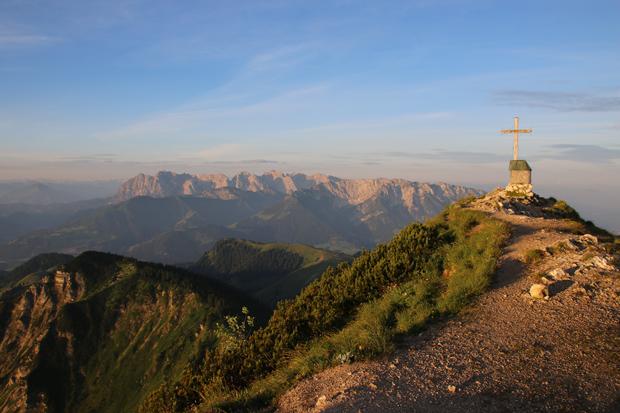 Der Blick ins Kaisergebirge ist unbeschreiblich
