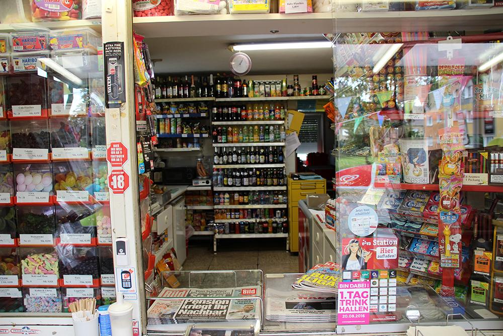 Ist der Blick in die Trinkhalle in Gelsenkirchen im Ruhrgebiet nicht wunderbar?