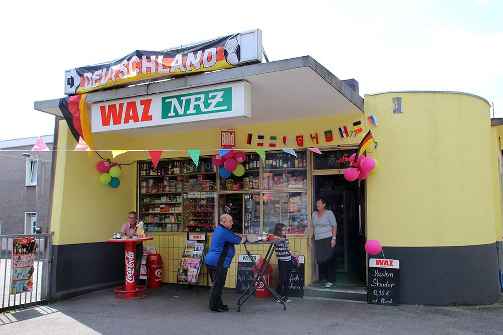 Der Kiosk Prosper im Bottrop im Ruhrgebiet sieht heute fast noch genau so aus wie damals