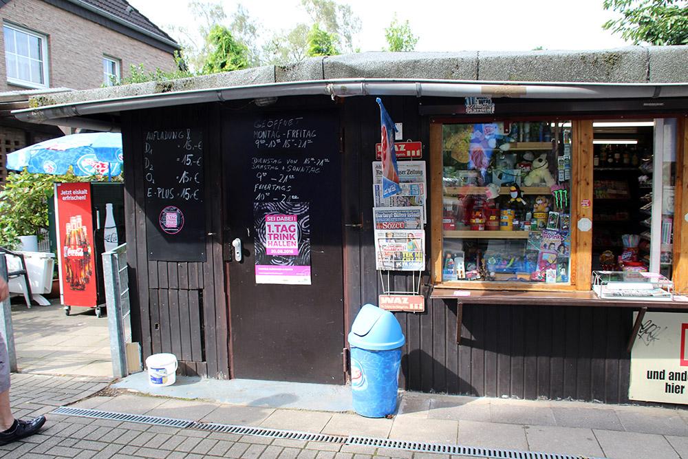 Beim Kiosk Moske in Recklinghausen starte ich meine Trinkhallen-Tour durch das Ruhrgebiet