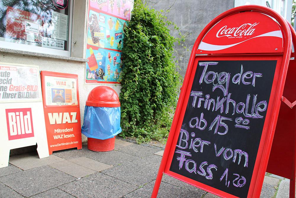Bier vom Fass - Nicht nur zum Tag der Trinkhallen sind die Preise im Ruhrgebiet günstig