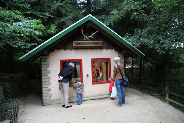 Märchenwald im Freizeitpark Sommerrodelbahn Ibbenbüren