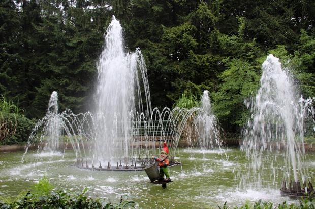 Die Wasserspiele in Ibbenbüren von 1963 begeistern auch heute noch