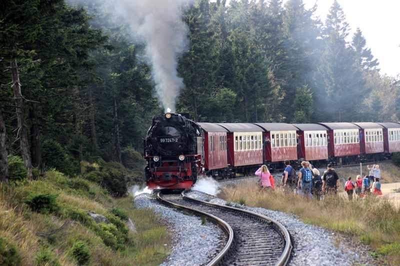Einzigartig ist die Harzer Schmalspurbahn