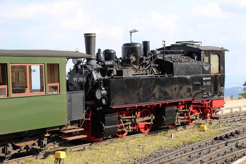 Mallet Lok der Harzer Schmalspurbahn