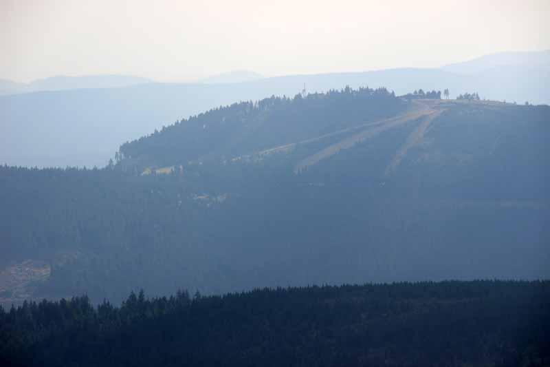 Blick hinüber zum Wurmberg
