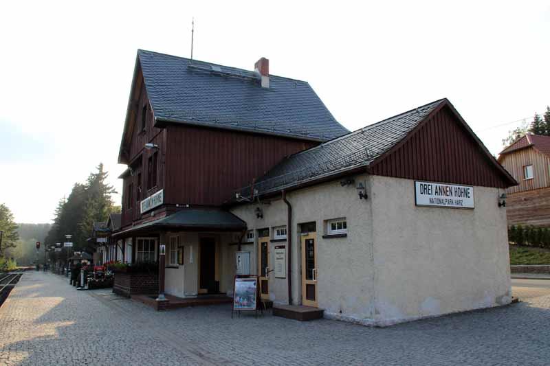 Bahnhof in Drei-Annen-Hohne