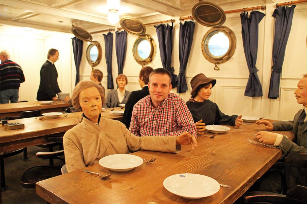 Als Museumsbesucher im Deutschen Auswandererhaus Bremerhaven kann man völlig in die Thematik eintauchen