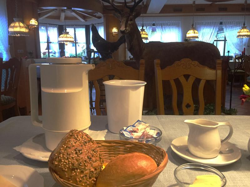 Frühstück im Landhotel Alte Aue