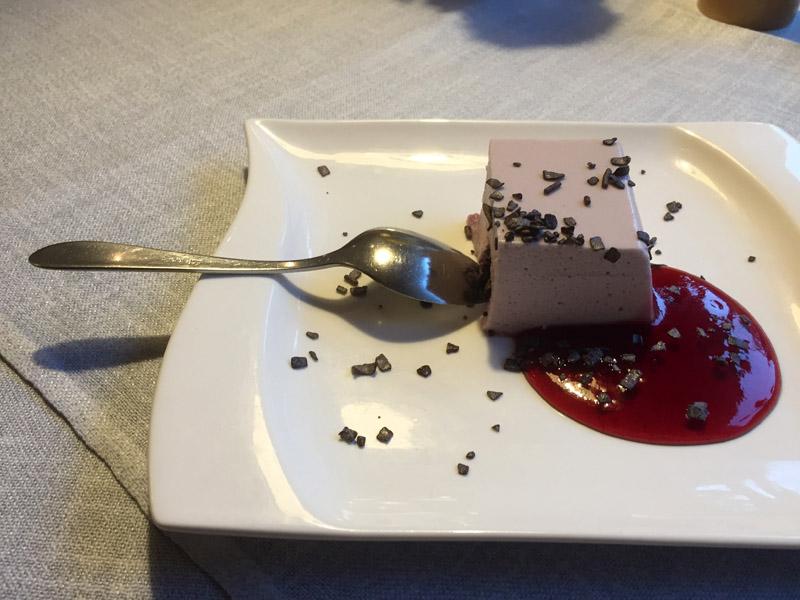 Nachtisch im Landhotel Alte Aue